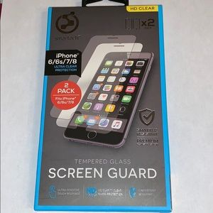 Tempered Glass screen Guard for I phone 6/6s/7/8
